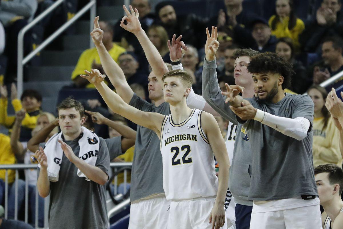 NCAA Basketball: Presbyterian at Michigan