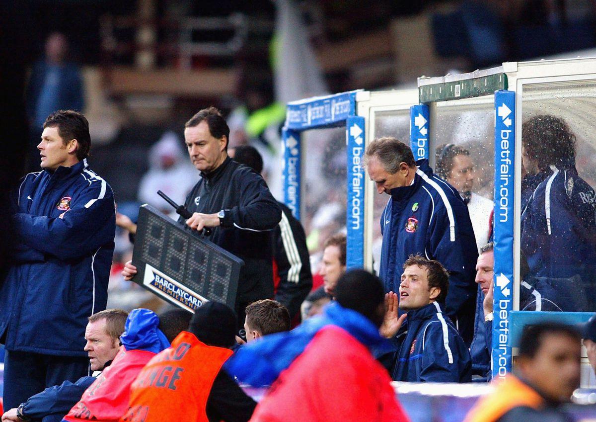 Sunderland Manager Howard Wilkinson