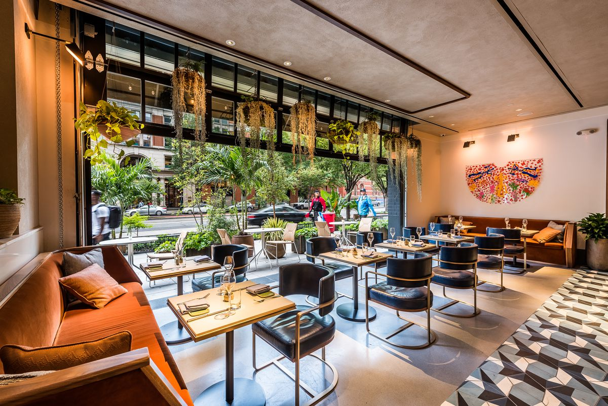 Chef Tim Ma S American Son Arrives As A Plant Filled Dining