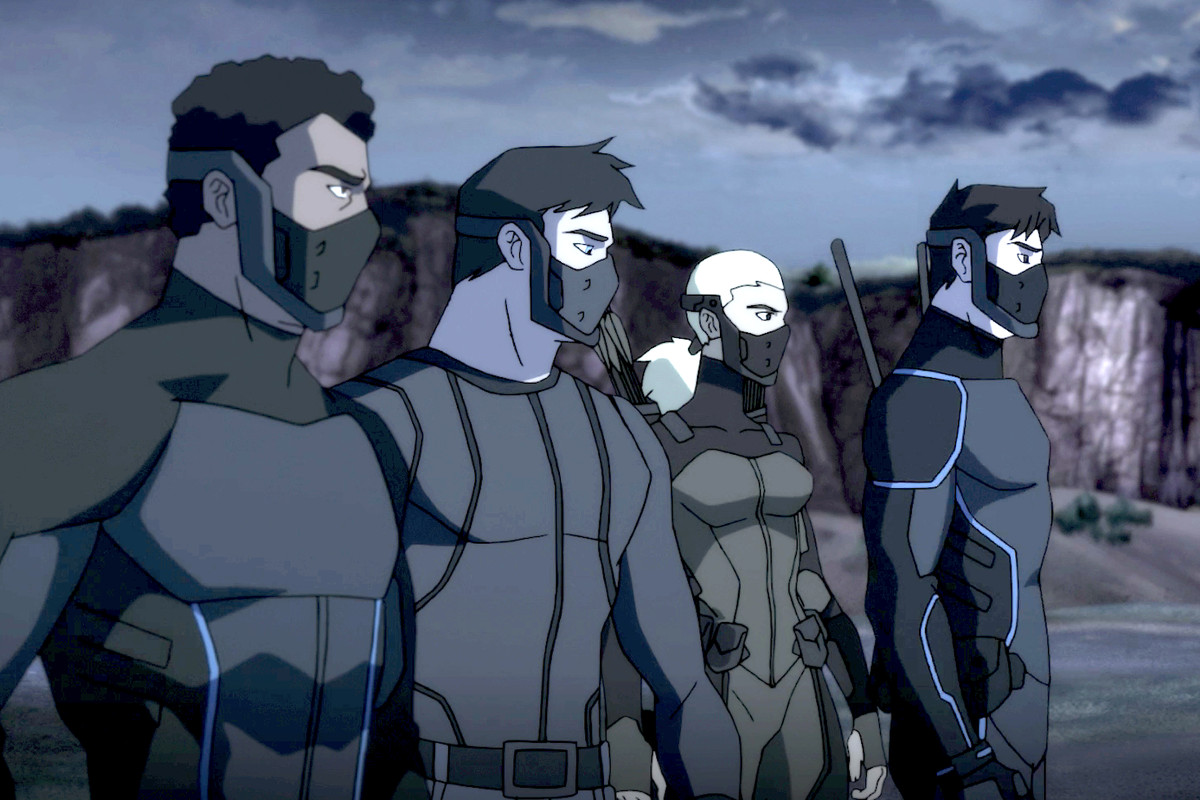 Young Justice Outsiders Review DC Series Is Free Of Network