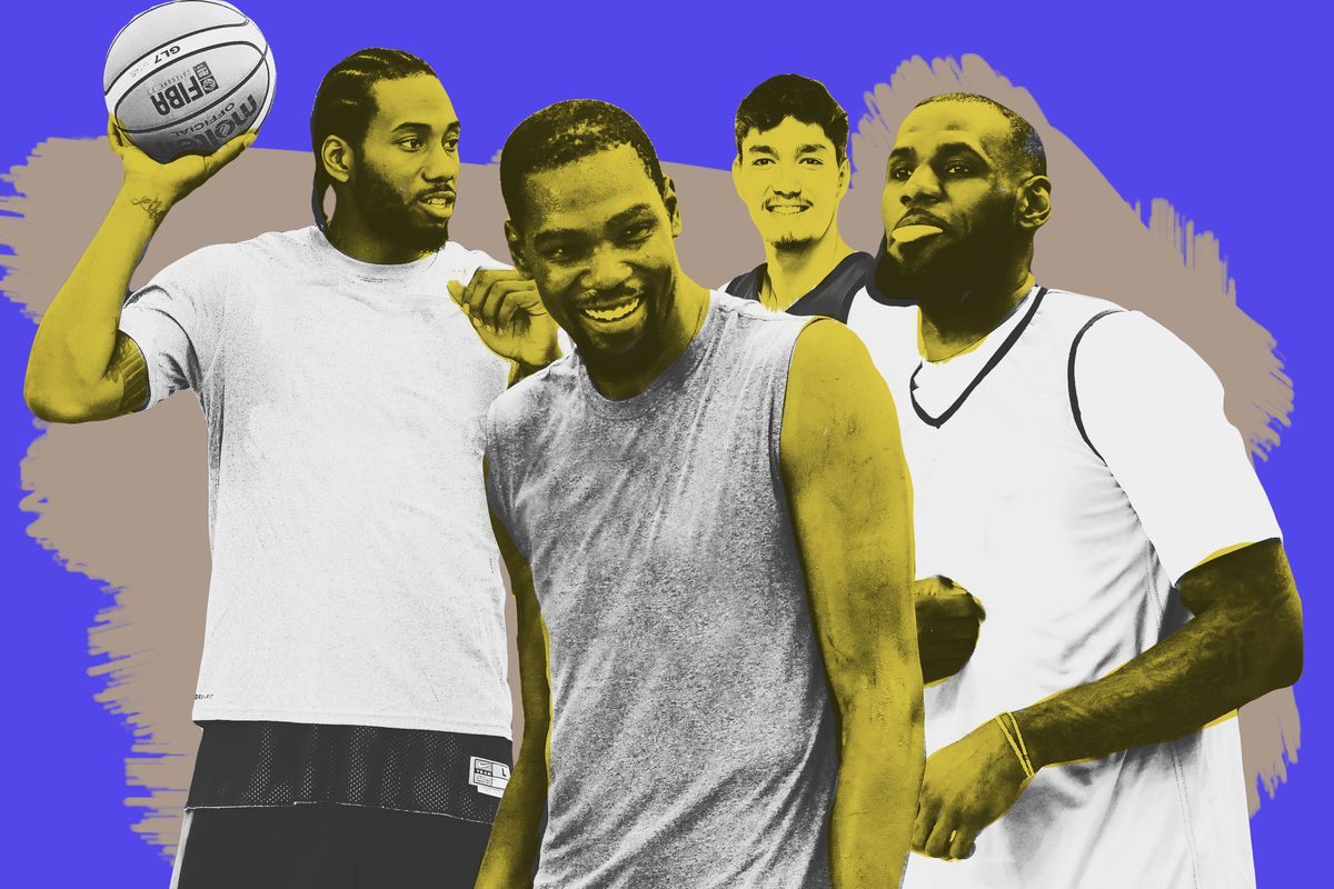 f70d23ab6abe A Deep Dive Into the LeBron-Durant-Kawhi Post-Workout Photo - The Ringer