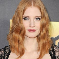 MOST ETHEREAL: Honestly, can anyone ever beat Jessica Chastain in this category? (Makeup: Kate Lee/Hair: Renato Campora)