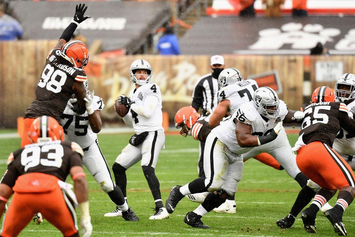 Las Vegas Raiders v Cleveland Browns