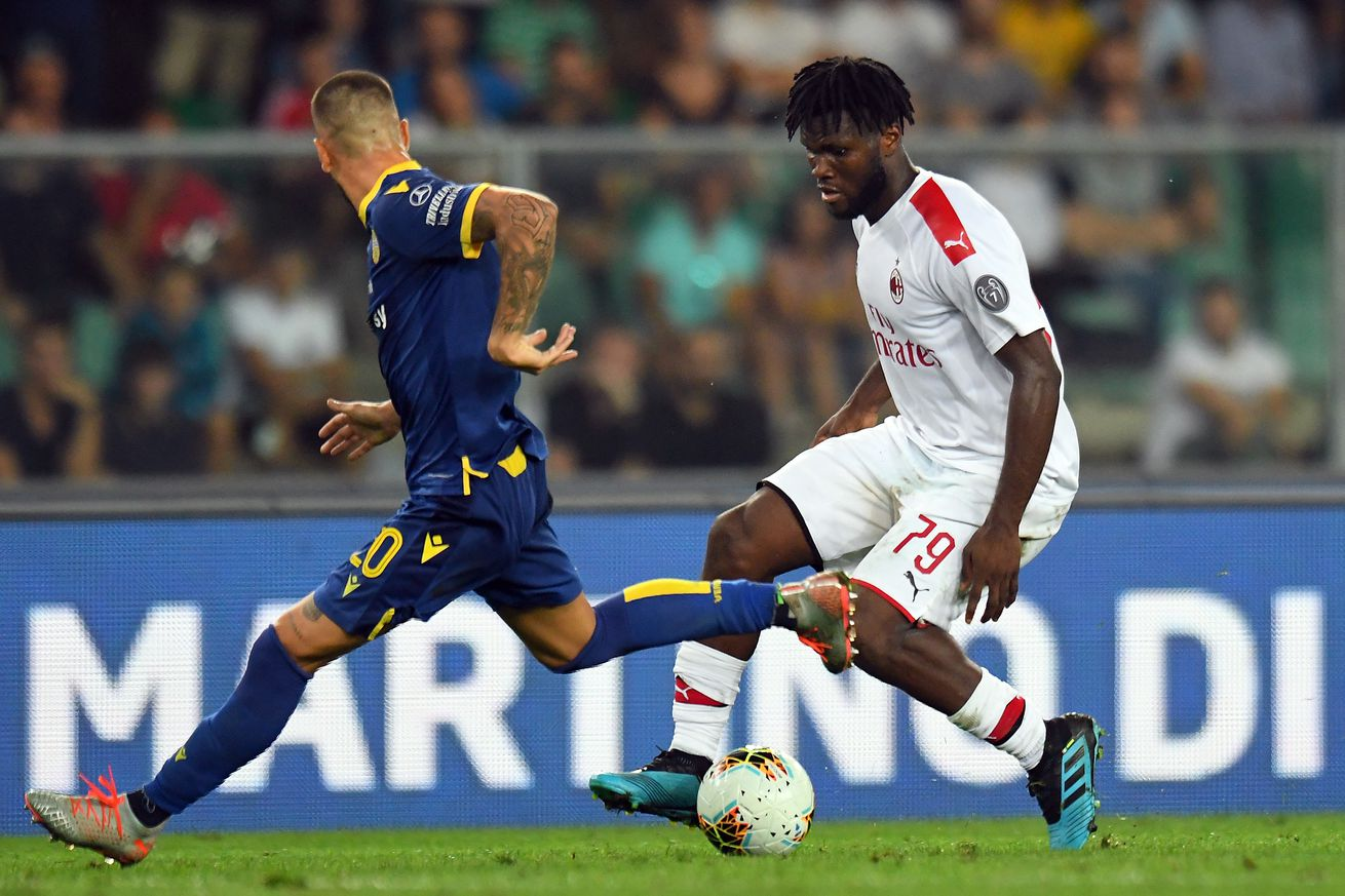 Franck Kessie Suffers Racist Abuse from the Hellas Verona Fans at the Bentegodi