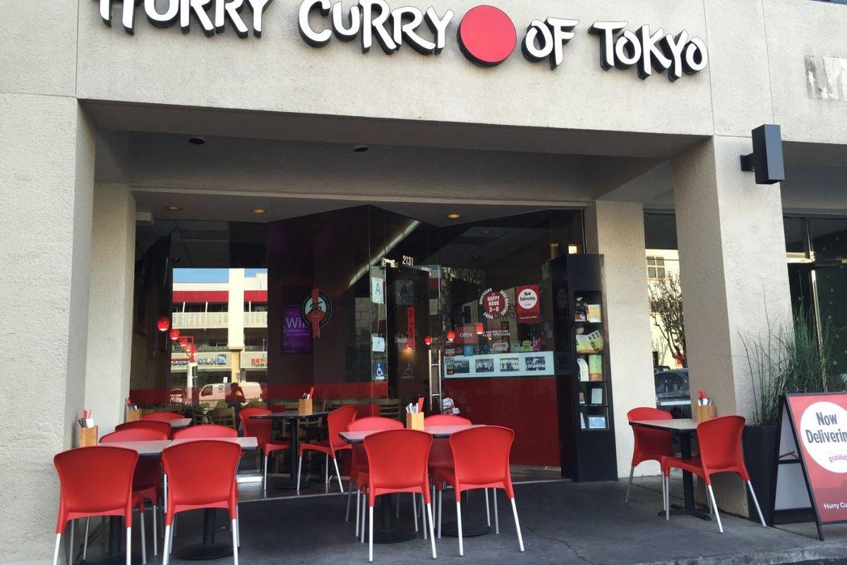 Hurry Curry's LA location.