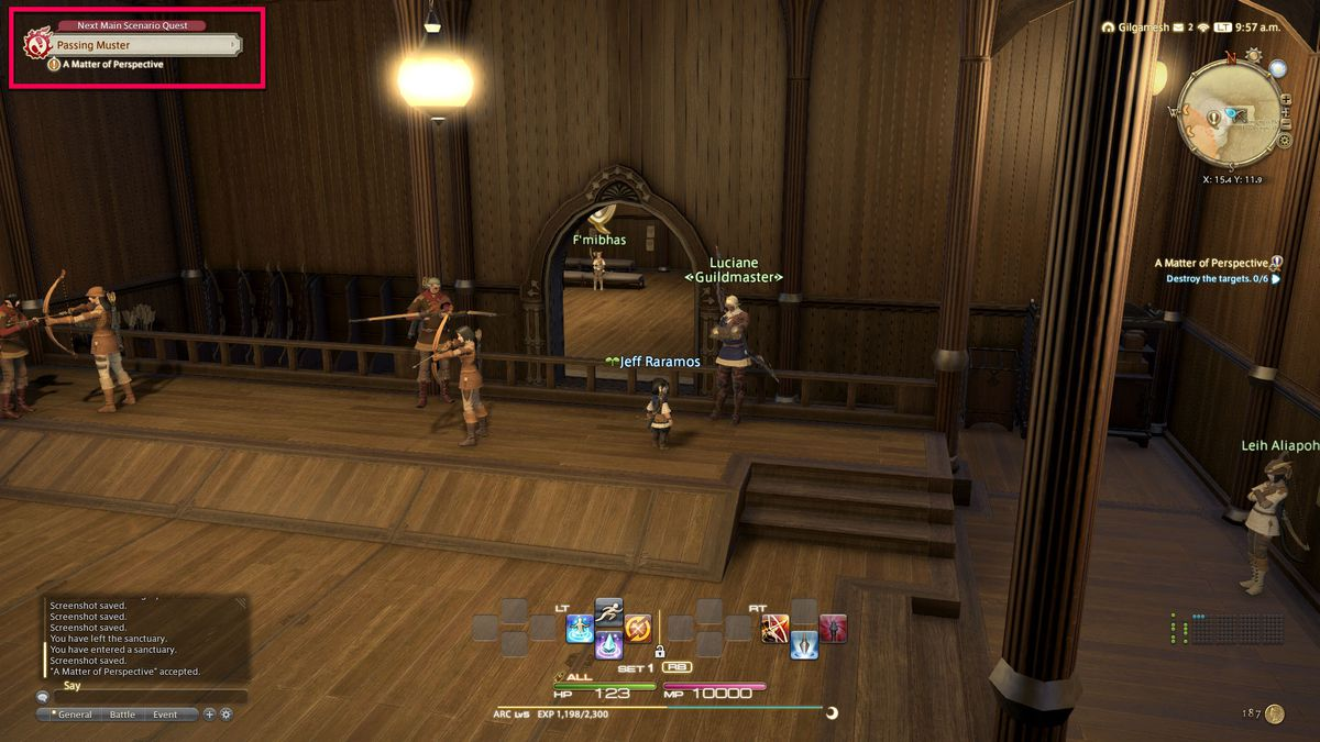 The Main Story Quest guide in FFXIV