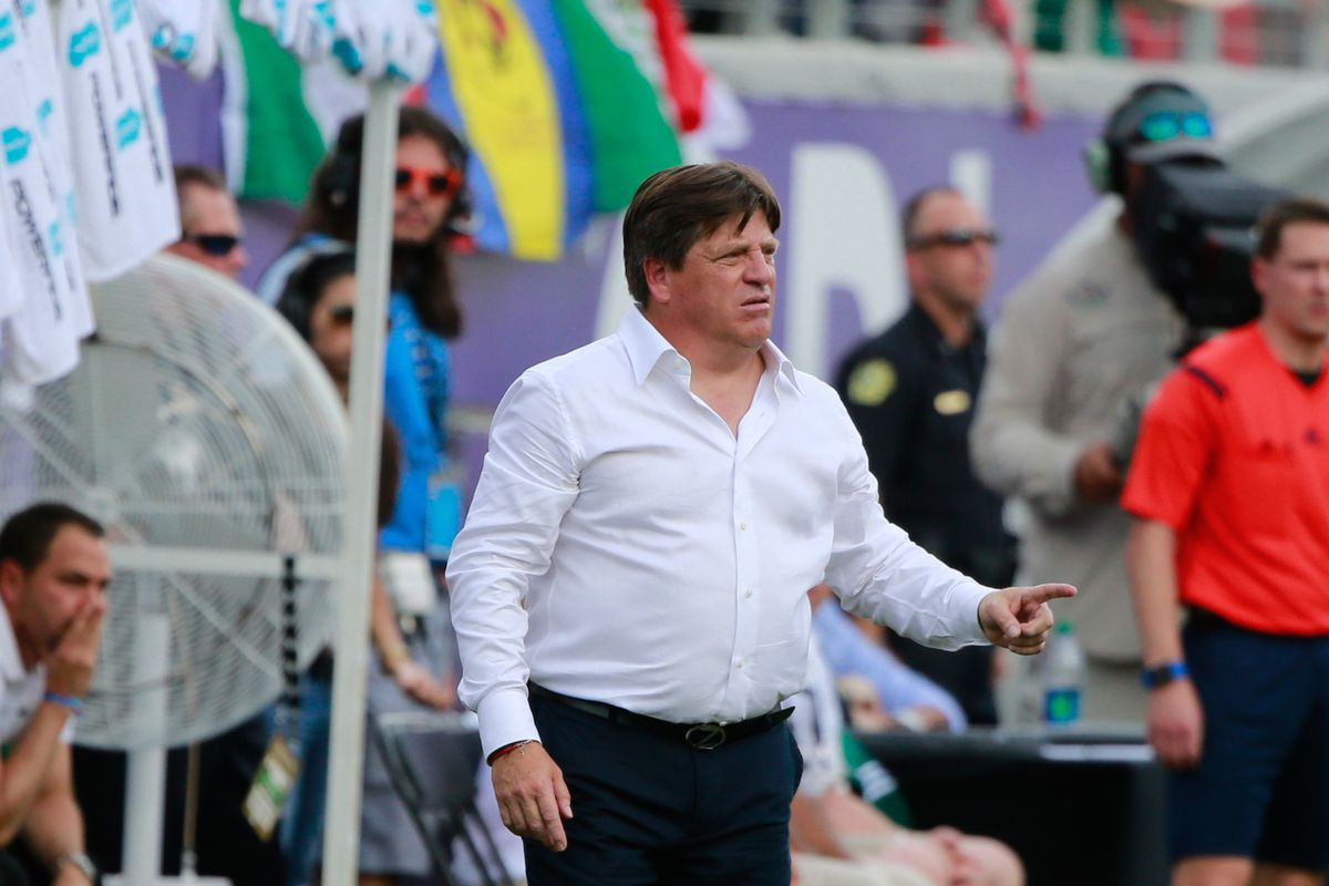 The pressure is on Mexico manager Miguel Herrera.