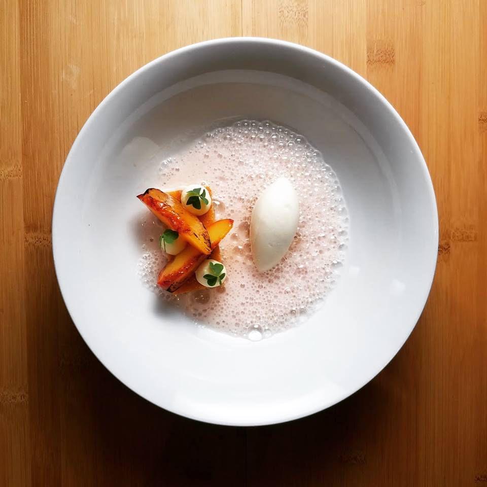 A dish at Tasting Counter