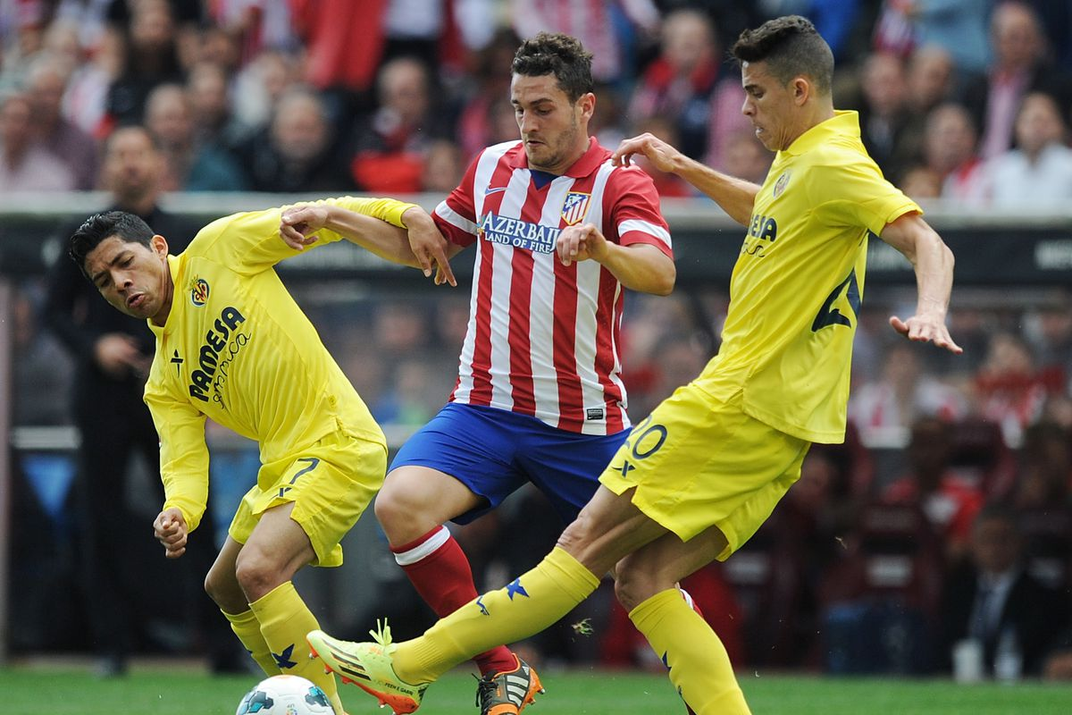 Gabriel, showing his form against one of the better La Liga sides.