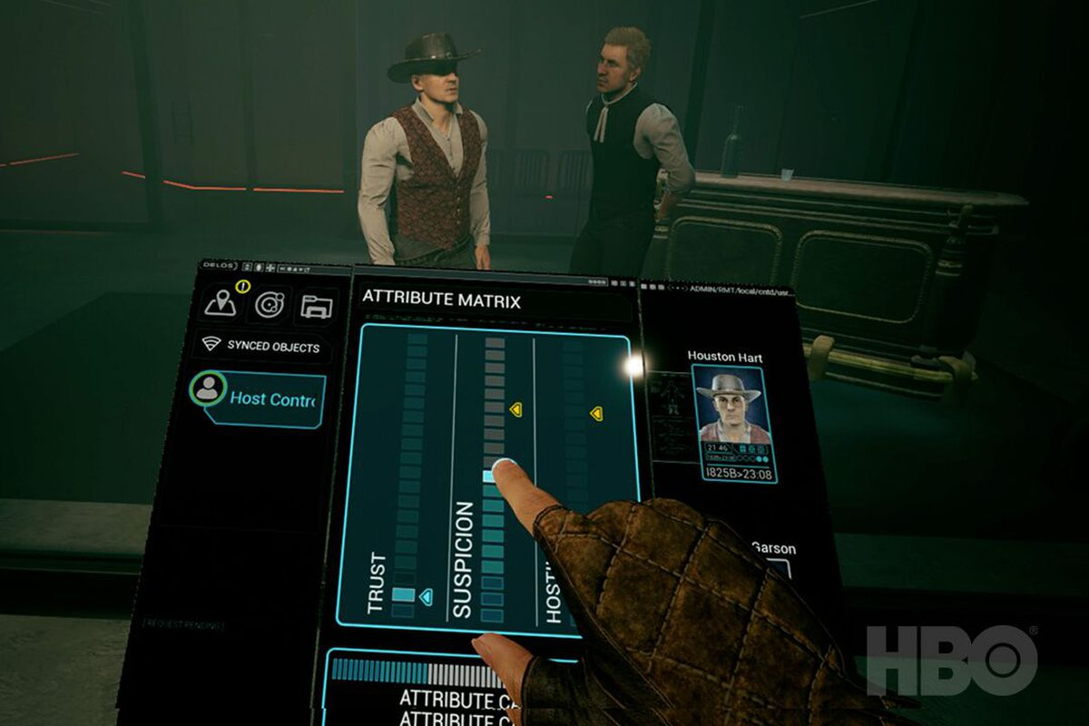 Westworld Awakening is a VR game where you play a newly self