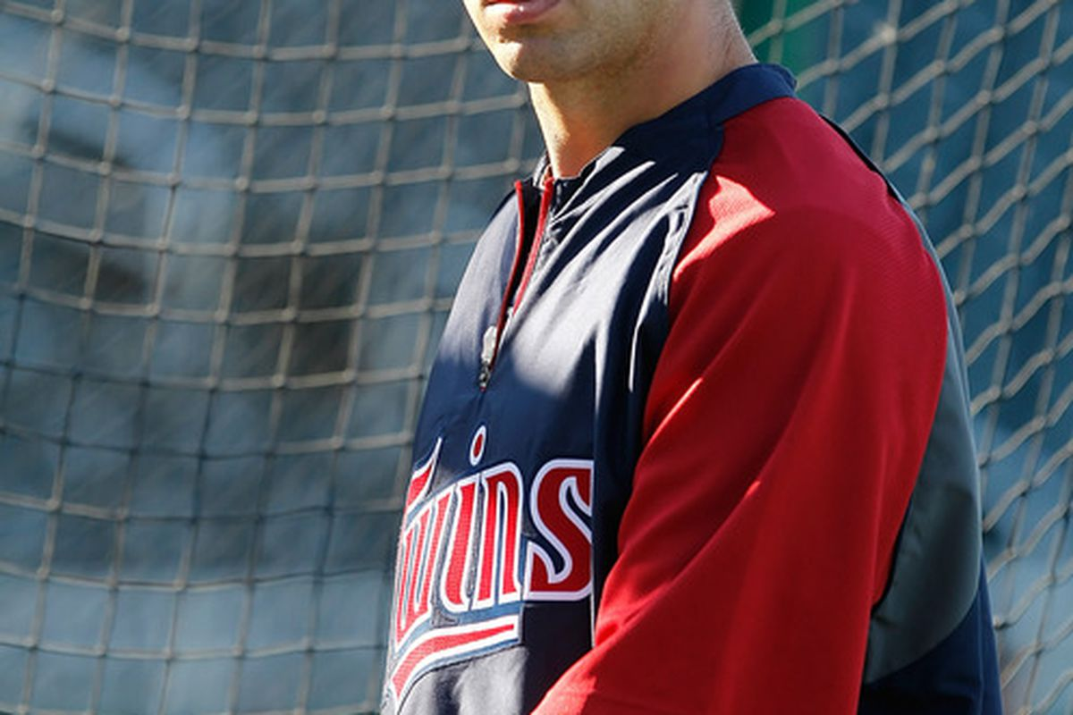 Joe Mauer has the eye of the tiger this year. I'm telling you right now.