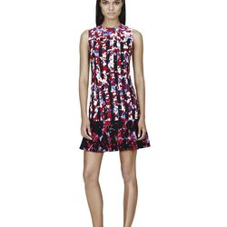 Dress in Red Floral/Stripe Print, $39.99