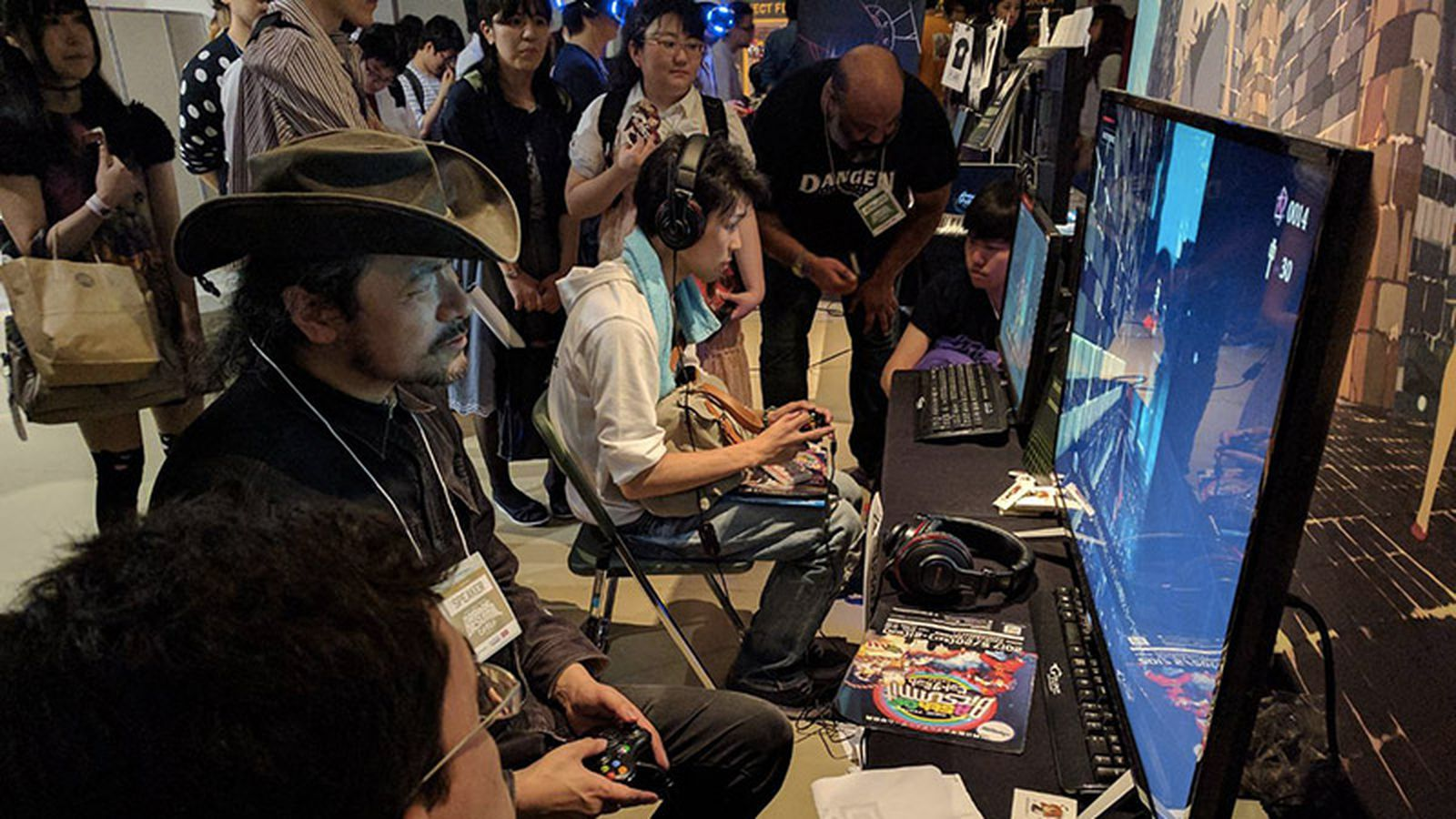 At BitSummit, Castlevania creator gets hands-on with some of the games he inspired