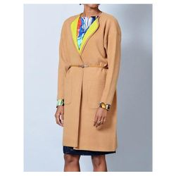 """<b>Tsumori Chisato</b> Double Cloth Knit Coat, <a href=""""http://shopbird.com/product.php?productid=27520&cat=616&manufacturerid=&page=1"""">$645</a>at Bird"""
