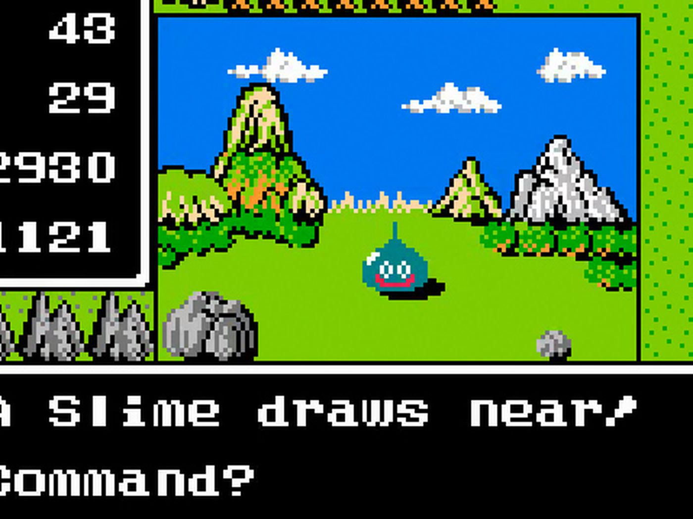 dragon quest your story slime