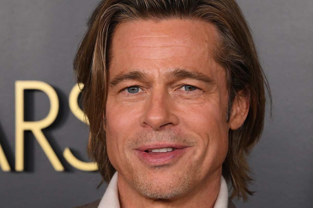 Brad Pitt attends the 92nd Oscars Nominees Luncheon on January 27, 2020 in Hollywood, California.