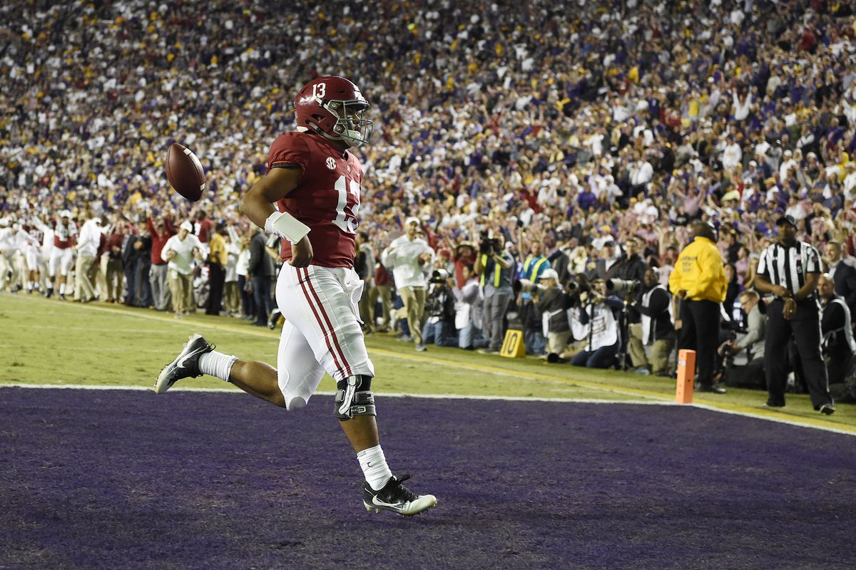 Bama Doubles Up A Historic Point Spread And Shuts Out Lsu In Death