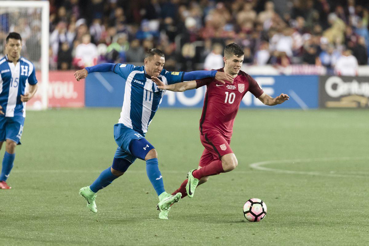 United States v Honduras - FIFA 2018 World Cup Qualifier