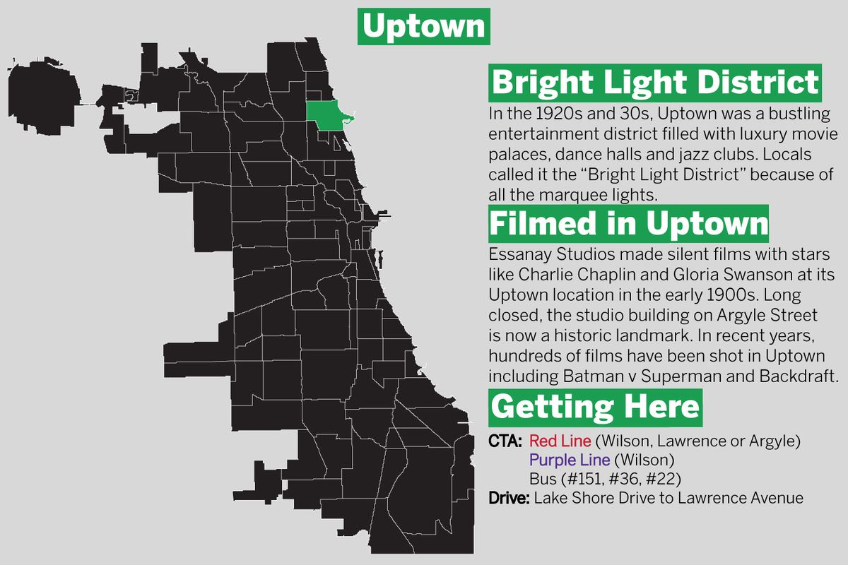 Uptown got its name from the Uptown Store which was once at the heart of the commercial center of the neighborhood. | Tanveer Ali/Sun-Times