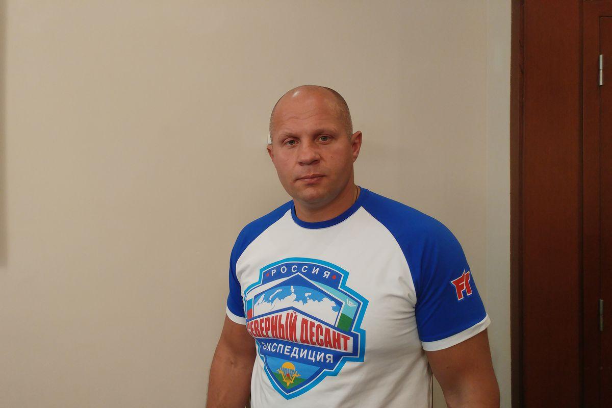 Fedor Emelianenko in Israel as ambassador for Bellator
