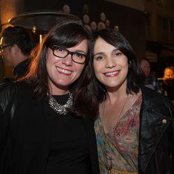 Eater SF's Ellen Fort and Eater EIC Amanda Kludt.
