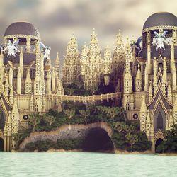 An architectural wonder in <em>Beautiful Minecraft</em>