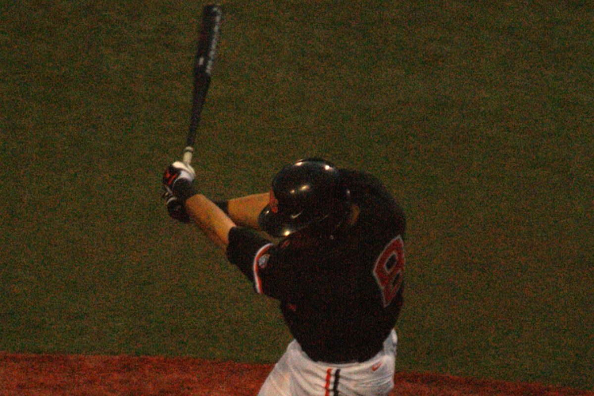 Michael Confotro's opposite field homer may have been the most impressive of the 4.