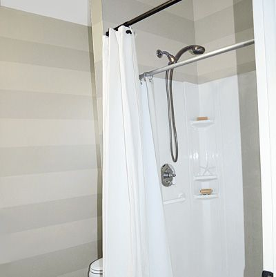 New Shower Stall Of Bathroom Remodel