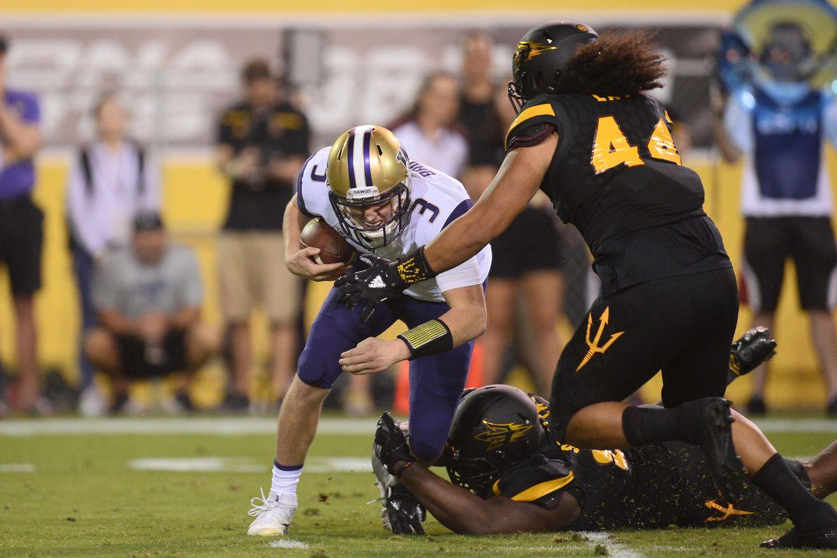 NCAA Football: Washington at Arizona State