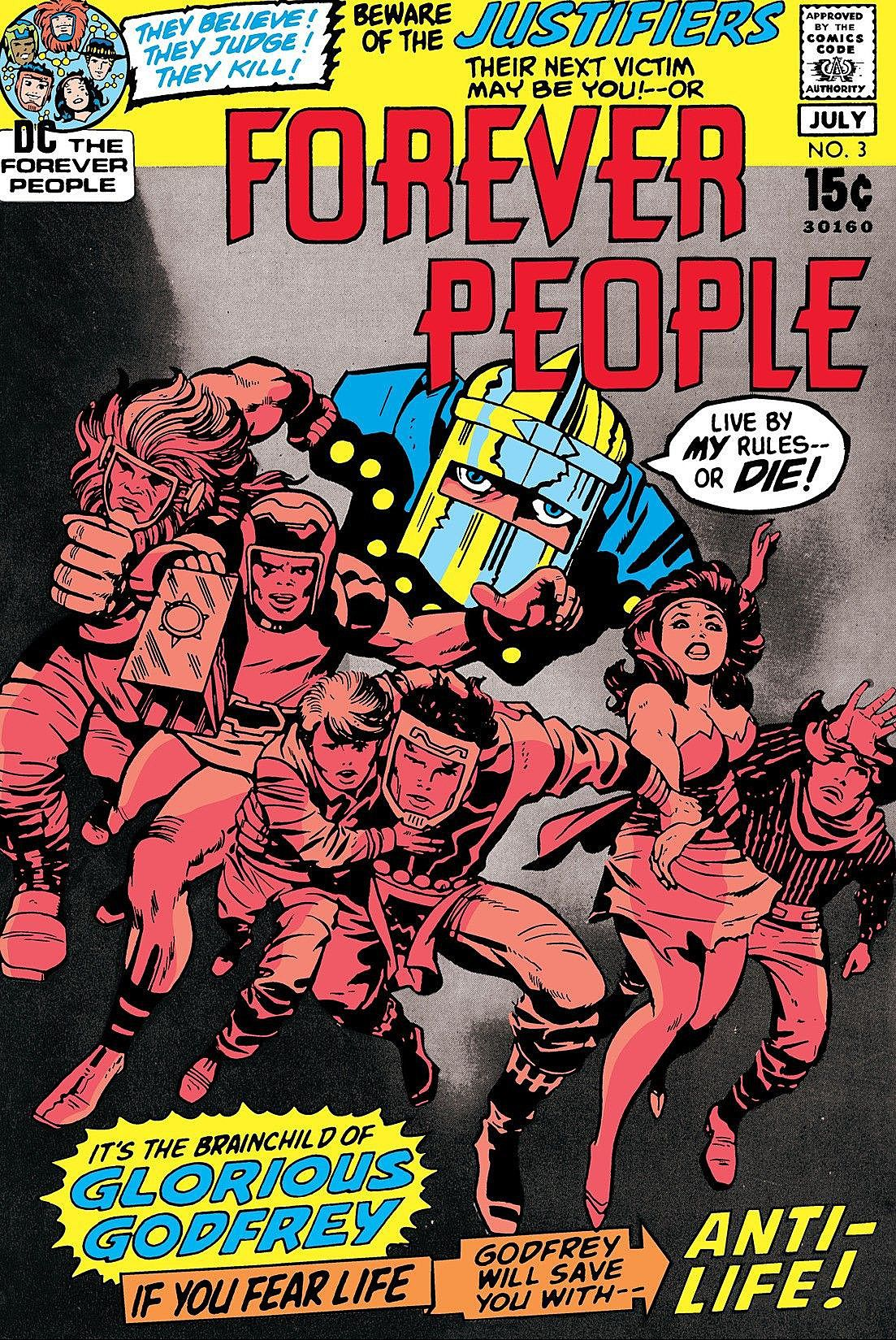 Cover of Forever People #3