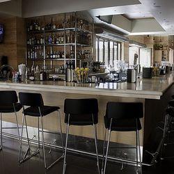 The bar at Cantina Laredo.