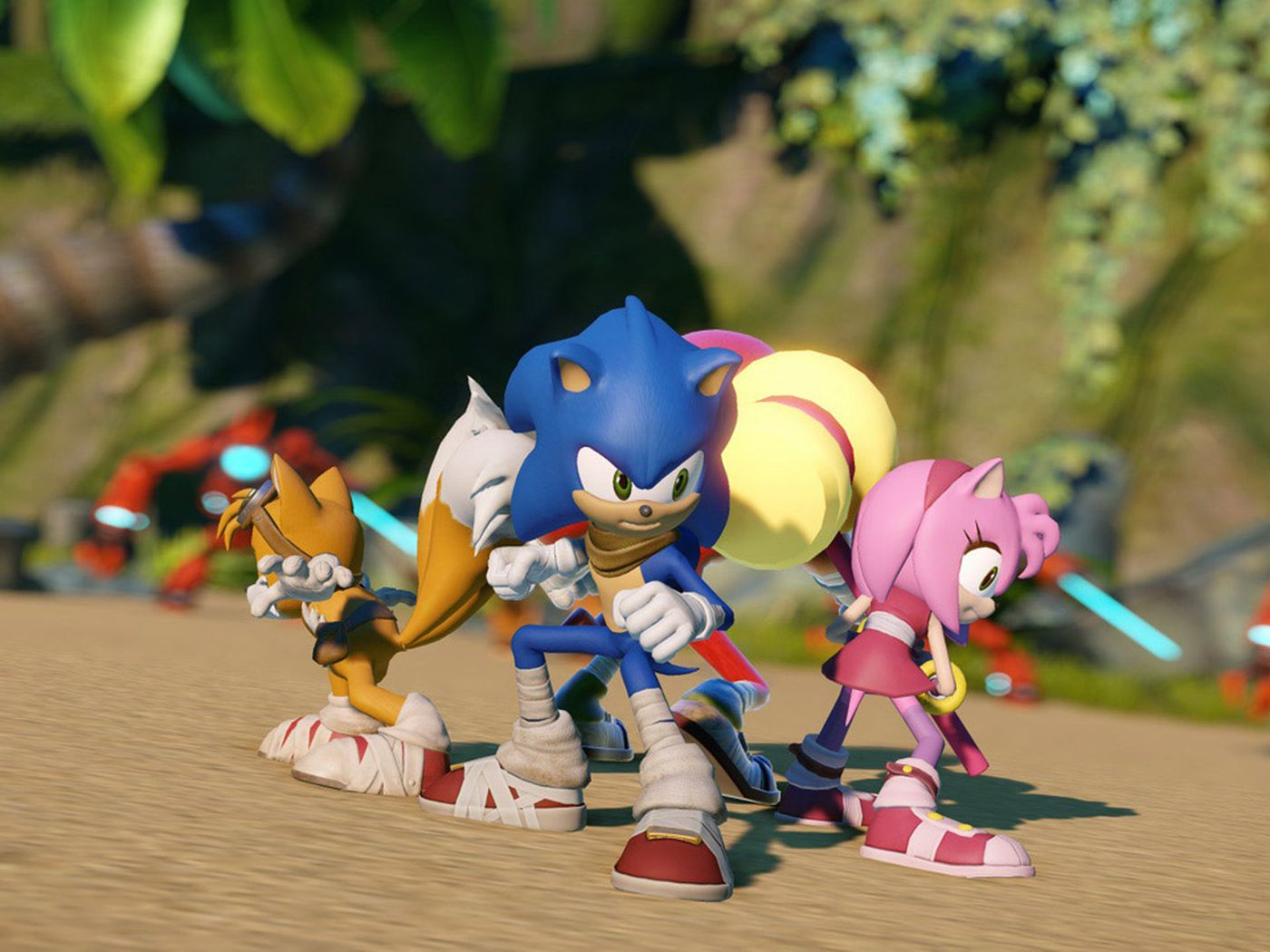 Sonic Boom Gives Sega S Series A New Look Two New Developers Polygon