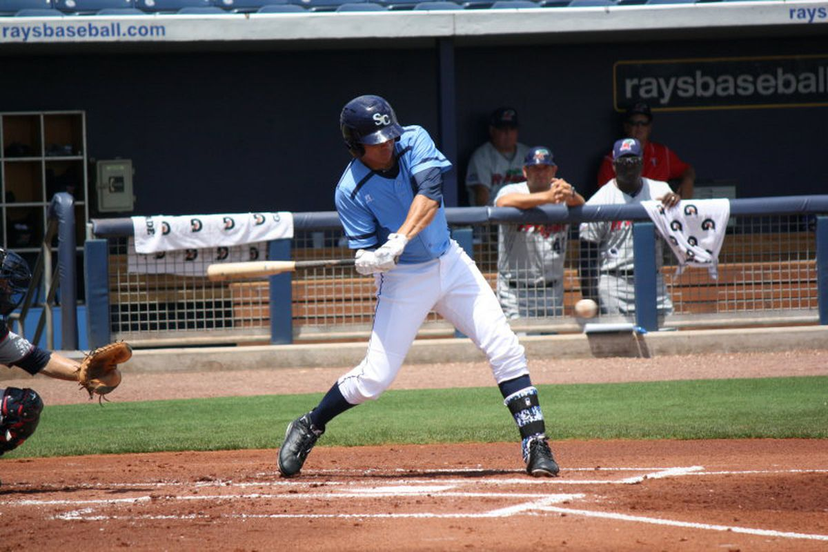 Willy Adames finished his first full season with the Rays with a .721 OPS in 106 games with Charlotte