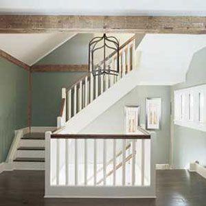<p>Barn staircase</p>