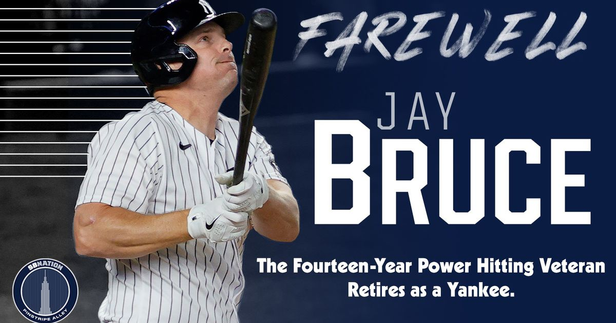Yankees' Jay Bruce announces retirement following Sunday's game - Pinstripe Alley