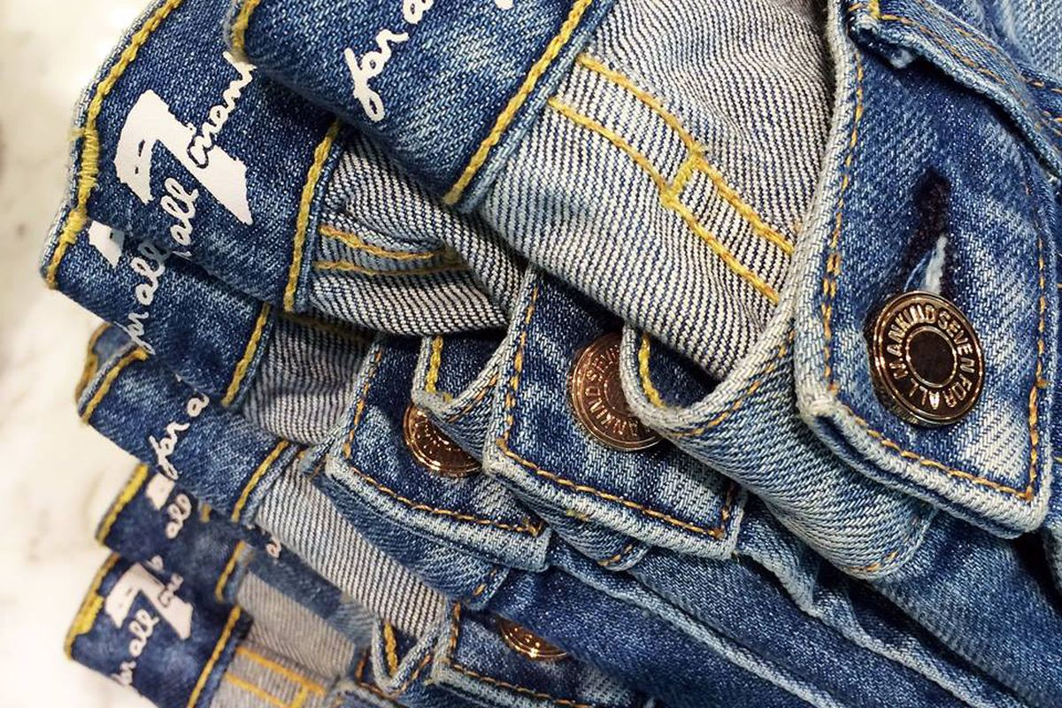 """Photo: 7 For All Mankind/<a href=""""https://www.facebook.com/7ForAllMankind/timeline"""">Facebook</a>"""