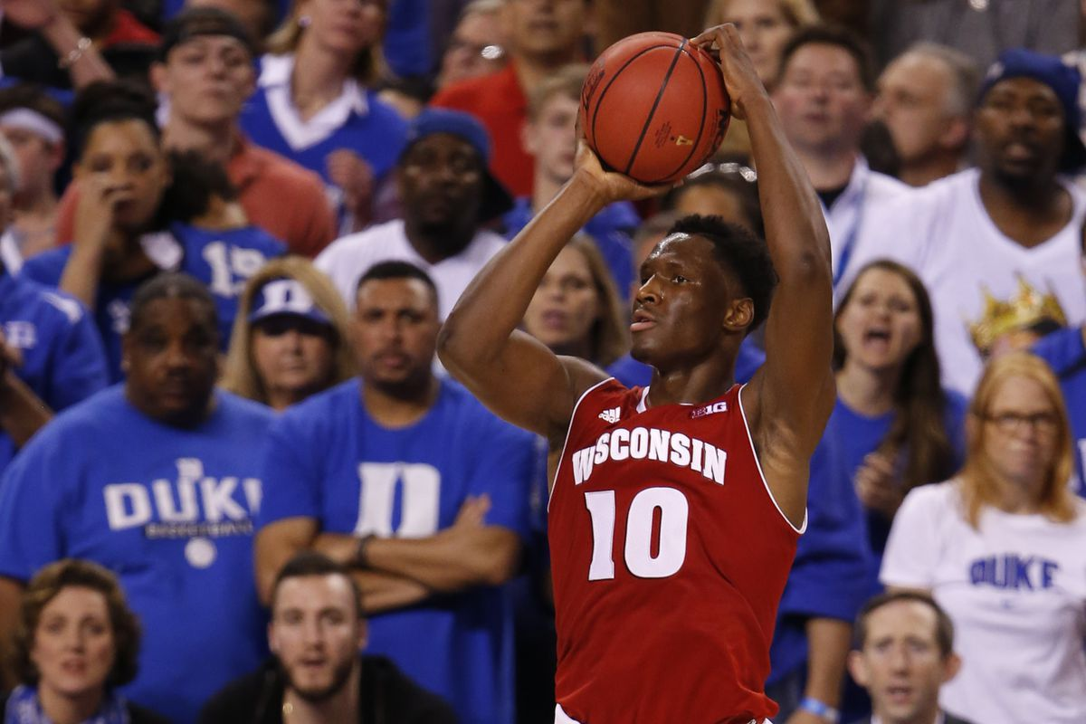 Nigel Hayes in the National Championship game