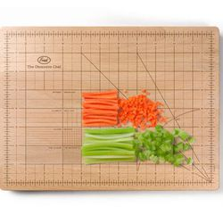 """Give your dad (who is Type A dad and learning to relax with cooking) this <b>Fred</b> Obsessive Chef Cutting Board, <a href=""""http://www.momastore.org/museum/moma/ProductDisplay?storeId=10001&catalogId=10451&langId=-1&categoryId=11501&parent_category_rn=26"""