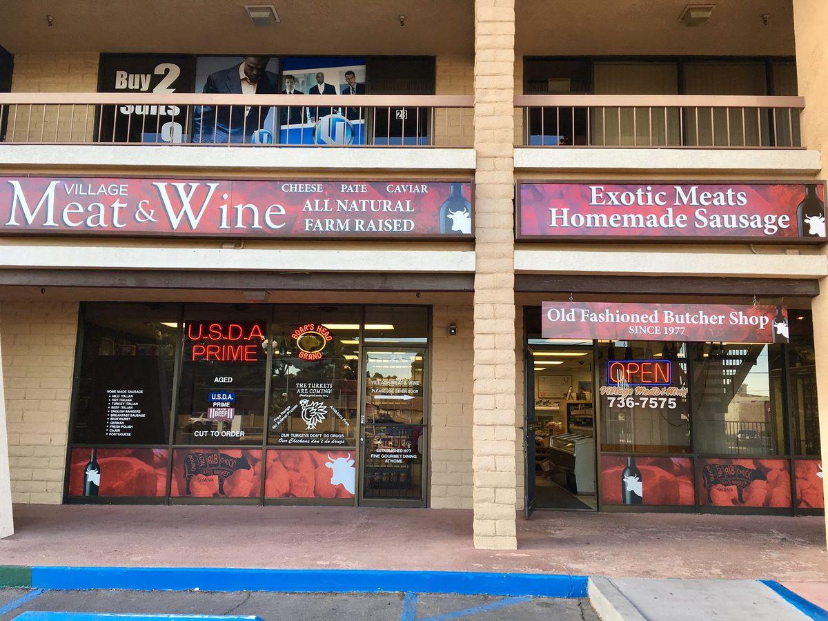 Village Meat & Wine front