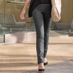 """<strong>Betabrand</strong>'s Gray Dress Pant Yoga Pants, <a href=""""http://www.betabrand.com/womens/bottoms/womens-dress-pant-yoga-pants.html"""">$79.20</a>, surpassed its crowdsourcing goal by nearly 300%. Order in the next 9 days to purchase the highly sough"""