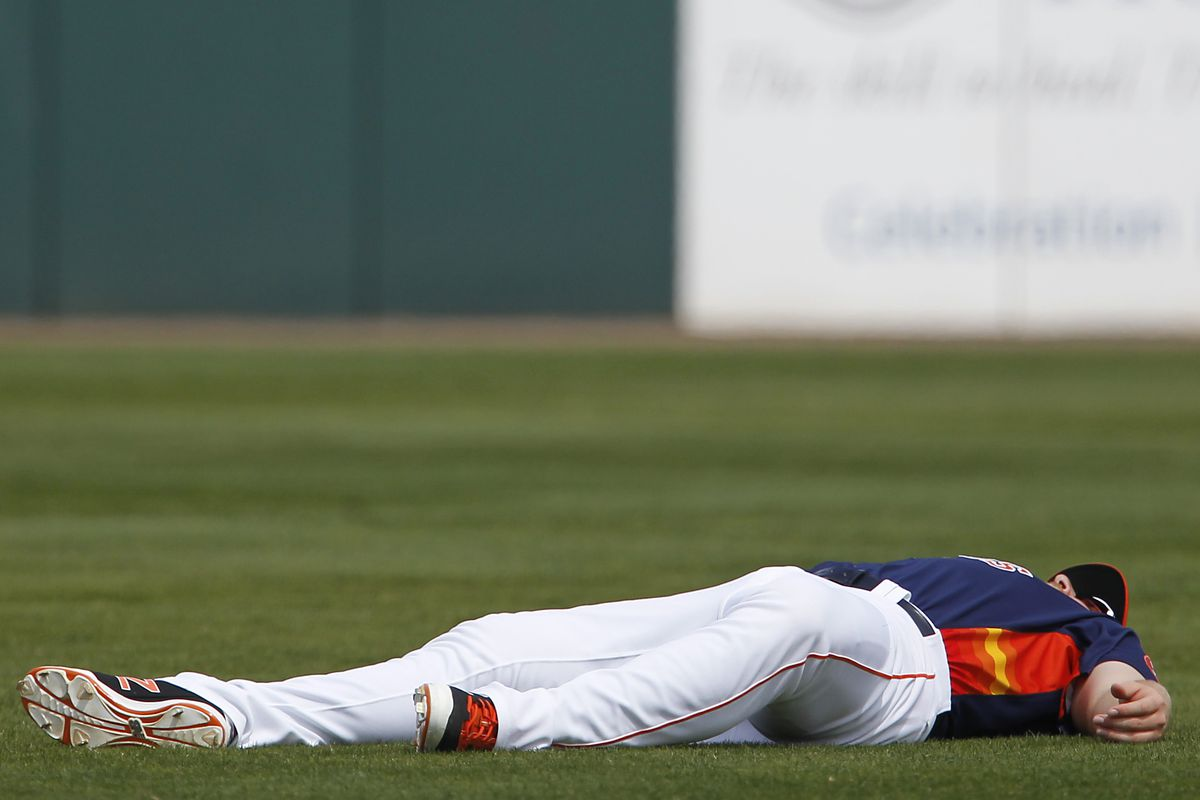 A.J. Reed came to the plate with a chance to be the hero and...fell...just short.
