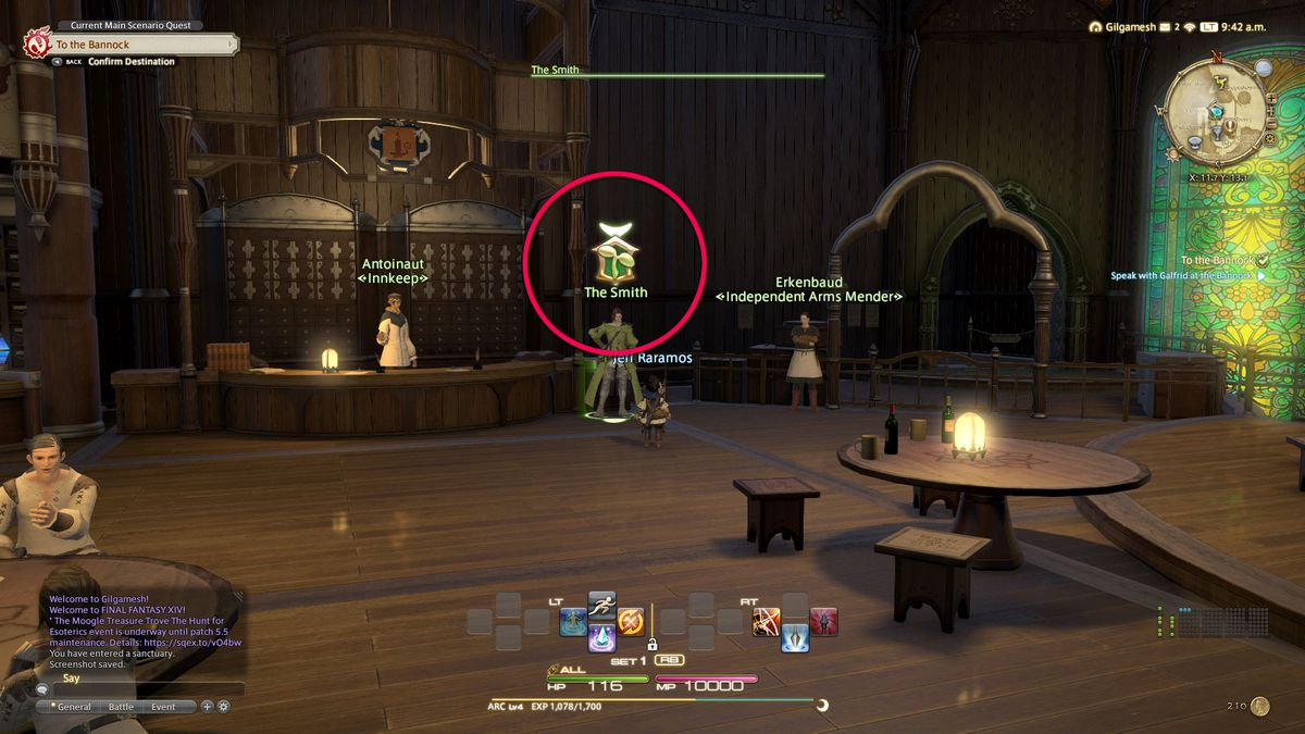 The Hall of Novice icon in Final Fantasy 14