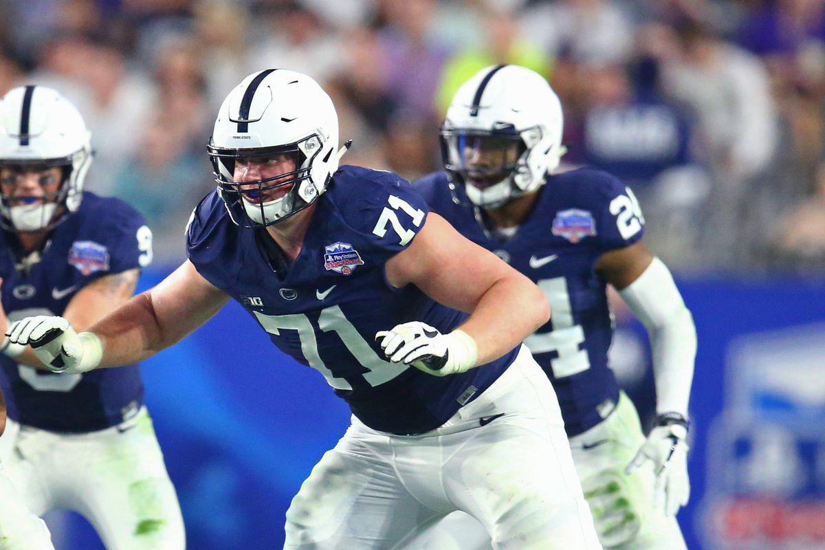 Penn State's 2019 Breakout Player: OT Will Fries