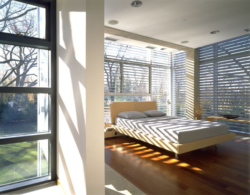 glass house interior design. While  transparency is an obvious theme to explore when building a glass house this project takes things step further by essentially displaying the Chicago architect lists suburban for 3 1M Curbed