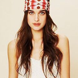 """<a href=""""http://www.freepeople.com/sale-sale-under-30/aztec-wide-headband/"""">Aztec Wide Headband</a>, $9.95 (was $18)"""
