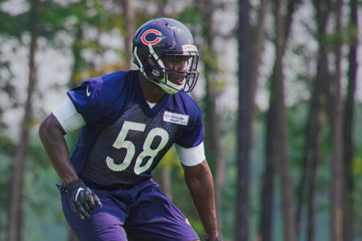 the best attitude f7ac0 4b45d Roquan Smith is back with the Chicago Bears, and his holdout ...