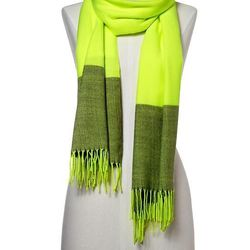 """<a href=""""http://www.gap.com/browse/product.do?cid=71027&vid=1&pid=349578022"""">Cozy Neon Scarf</a>, $29.95 at Gap"""