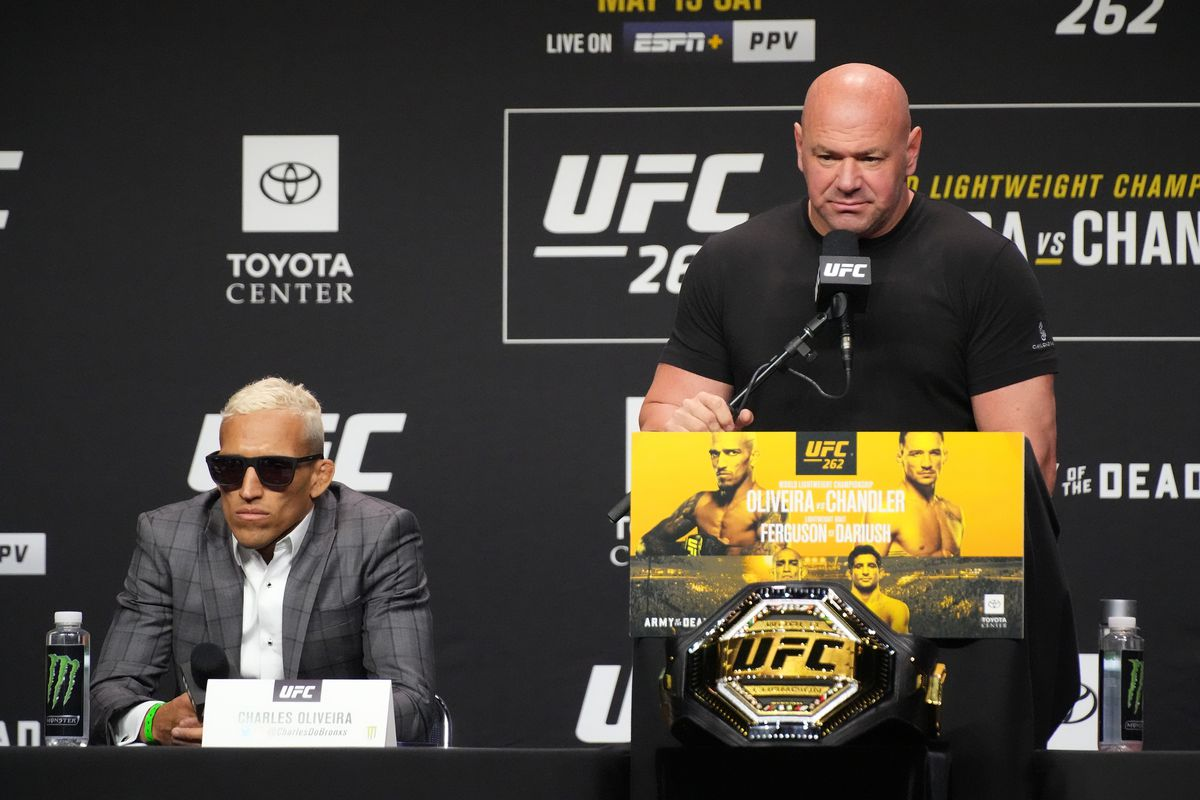MMA: MAY 13 UFC 262 Press Conference