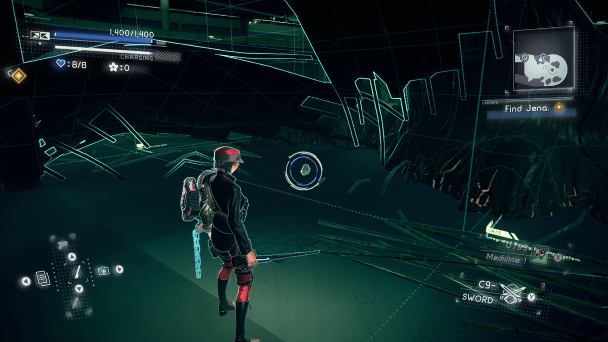 Astral Chain File 04: Cat location