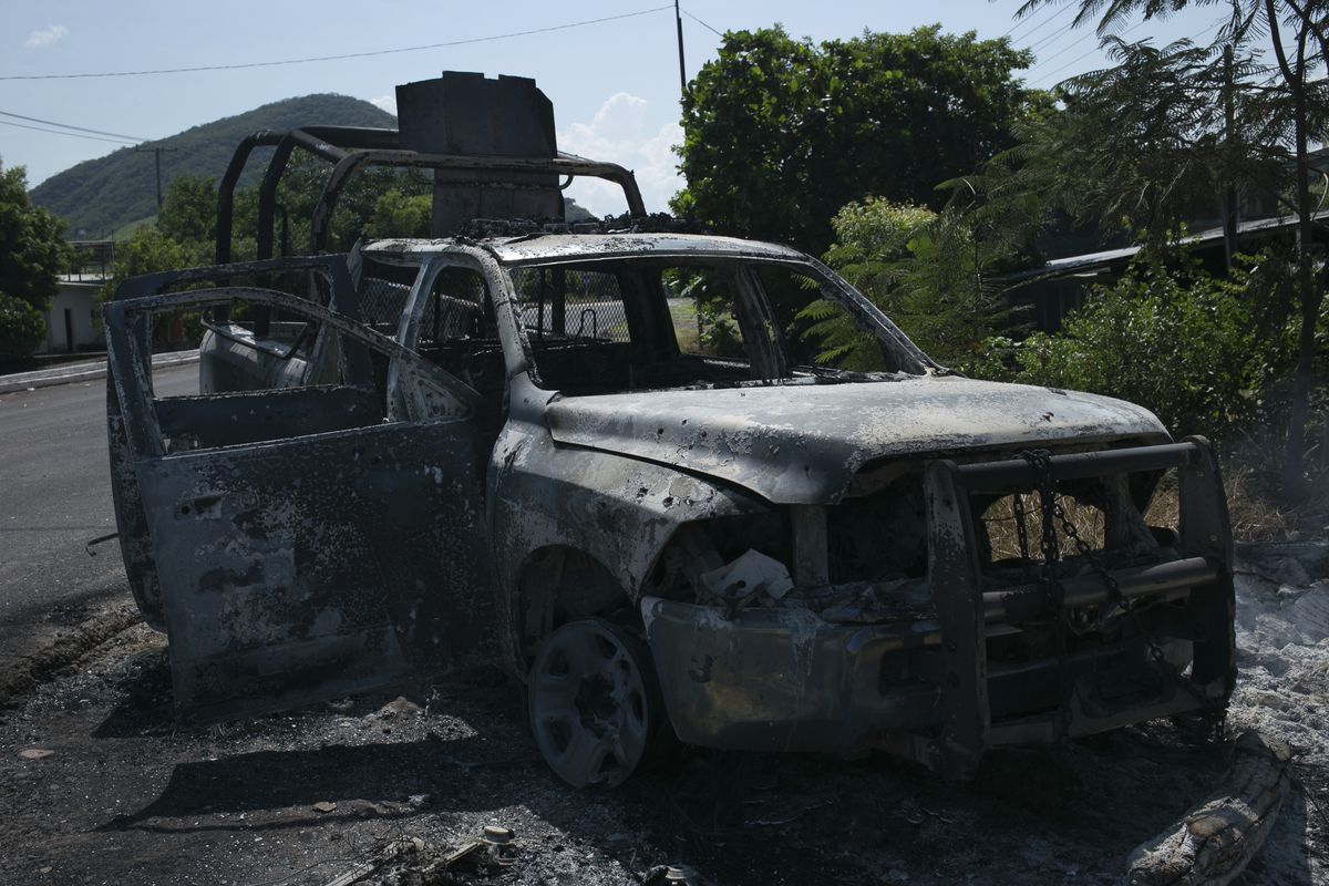 Cartels reign in many parts of Mexico as government cede battles